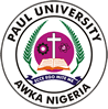 PROFESSOR UCHE IKONNE DELIVERS THE 2019 MATRICULATION LECTURE OF PAUL UNIVERSITY … details later | Paul University, Awka