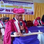 AN ADDRESS BY THE VICE-CHANCELLOR OF PAUL UNIVERSITY, VEN. PROF UCHE  ISIUGO-ABANIHE AT THE 9TH MATRICULATION OF UNDERGRADUATES AND 23RD MATRICULATION OF POSTULANTS, PAUL UNIVERSITY, AWKA ON THURSDAY, 7TH MARCH 2019.