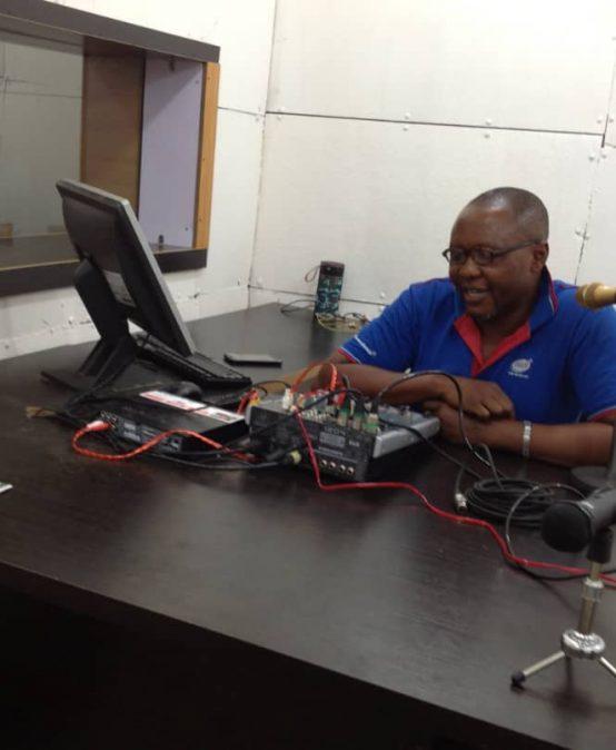 PUA Radio live studio
