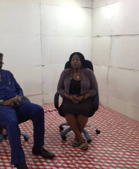 Prof. Ike Ndolo in a TV interview