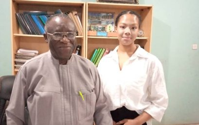 A Japanese Student on Exchange Programme at Paul Univeristy Awka